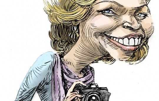 La sonrisa del Corazón. Marina Bernal vista por Carlos Navarro