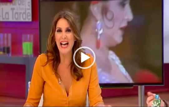 Marina Bernal en La Tarde de Canal Sur TV