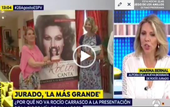 Marina Bernal presenta Canta, Rocío, Canta en Espejo Público